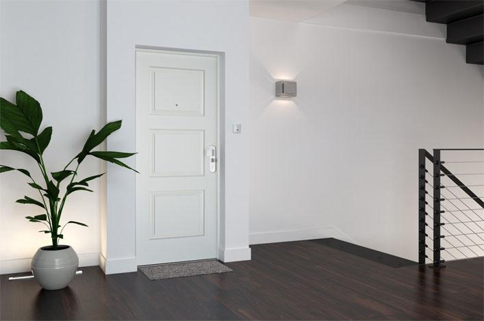 porte blind e pour s curiser sa maison. Black Bedroom Furniture Sets. Home Design Ideas